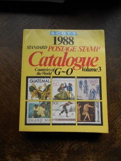 Catalogue Standard Postage Stamp